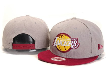 Los Angeles Lakers New Snapback Hat YS E10